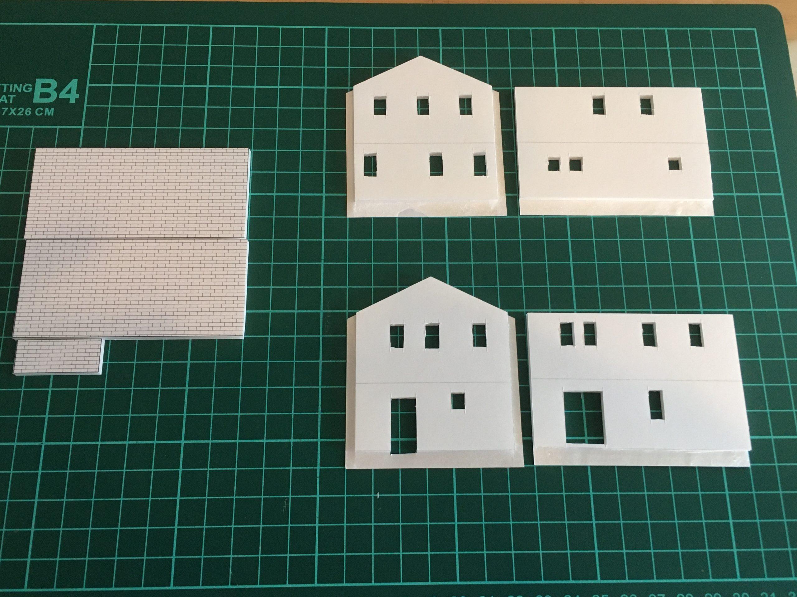 ヘリテージホーム 住宅模型